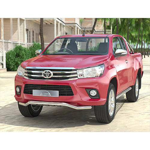 Spoiler Protection 60mm for Toyota Hilux Revo 2016-Current