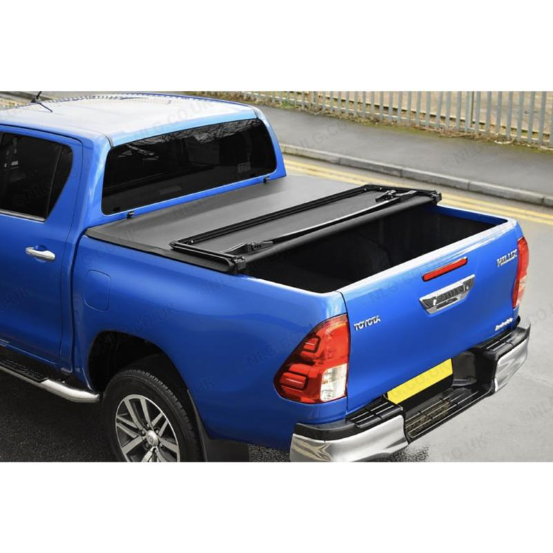 Soft Folding Tonneau Cover For Toyota Hilux Revo 2016