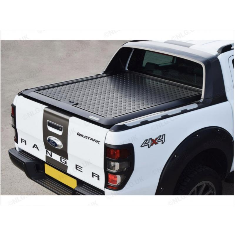 Pro Top Lift Up Aluminium Load Bed Cover Black For Wildtrak Model For Ford Ranger