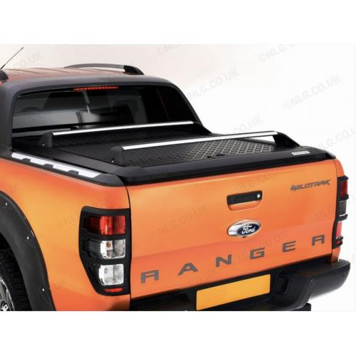 Pro//Top Lift Up Aluminium Load Bed Cover - Black (For Wildtrak Model) For Ford Ranger 2019 On