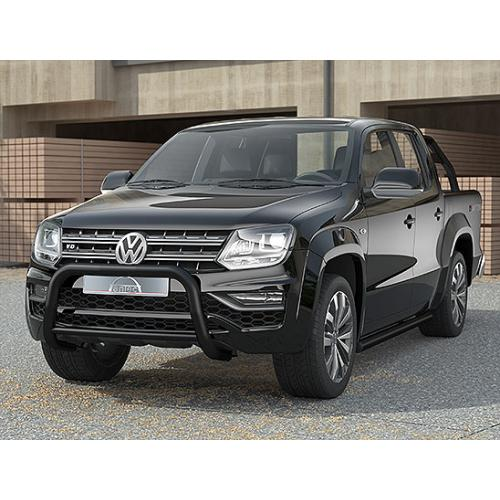 Pushbar 70mm Cross 42mm Black - Volkswagen Amarok V6 - 2017