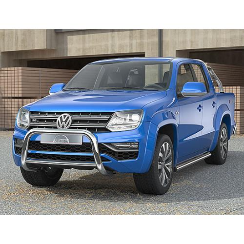 Pushbar 70mm Cross 42mm Stainless Steel - Volkswagen Amarok V6 - 2017