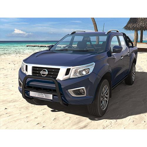 Pushbar 60mm Cross 42mm Black - Nissan Navara 2015
