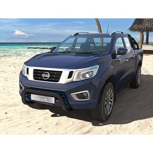 Pushbar 76mm Black  - Nissan Navara 2015