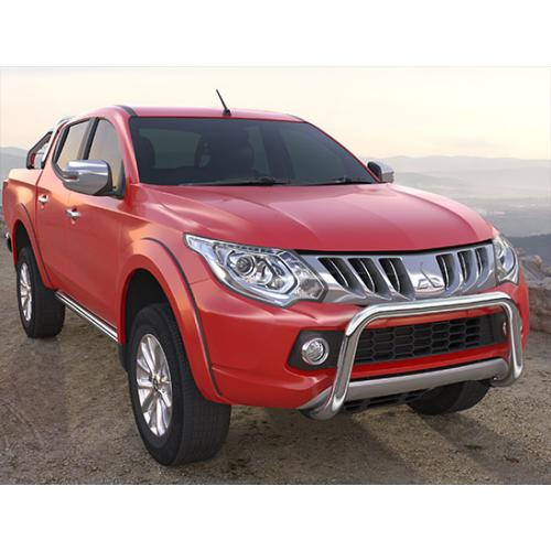 Pushbar 60mm Stainless Steel - Mitsubishi L200 - 2015