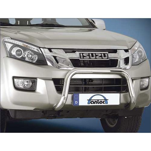 Pushbar 60mm Stainless Steel - Isuzu DMax 2017