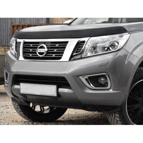 Dark Smoke Bonnet Guard - Nissan Navara NP300 2015