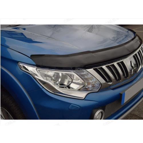 Dark Smoke Bonnet Guard - Mitsubishi Triton L200