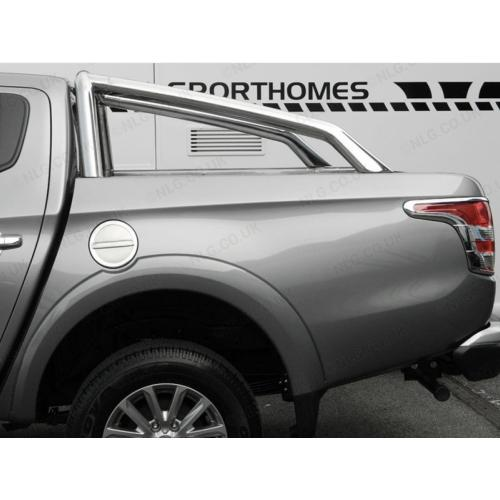 Rollbars Stainless Steel Hoop - Mitsubishi Triton L200