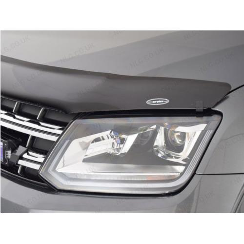Dark Smoke Bonnet Guard - VW Amarok V6