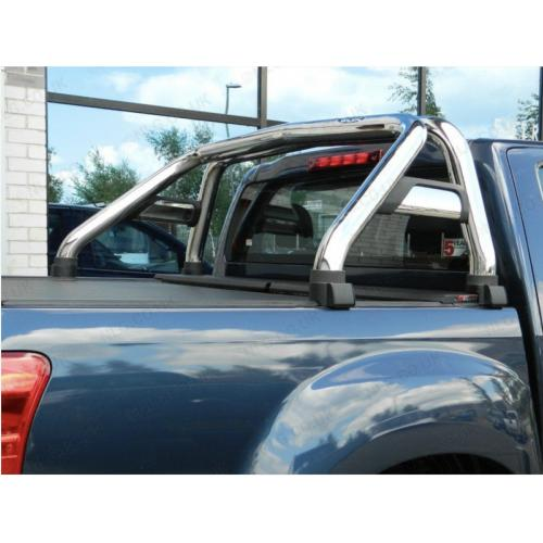 Stainless Single Hoop Sports Roll Bar - Isuzu Dmax Double Cab