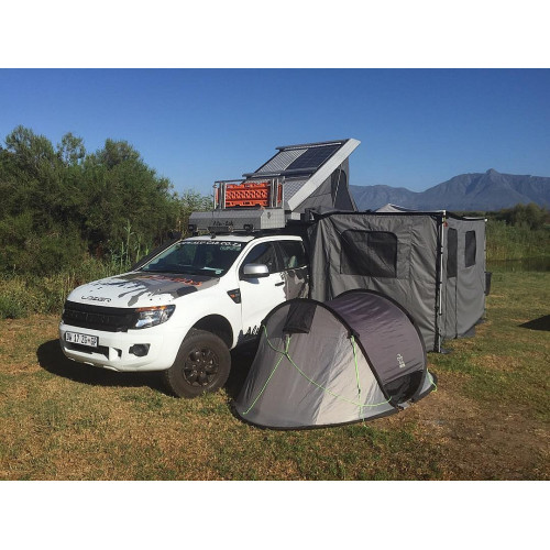 Alu-Cab Expedition 3 Roof Top Tent Black